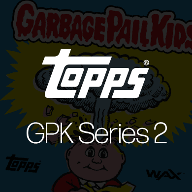Topps Garbage Pail Kids Series 2 NFTs on Wax